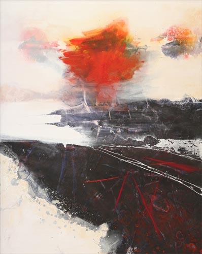 Kristina Isaksson: Maisema punaisella