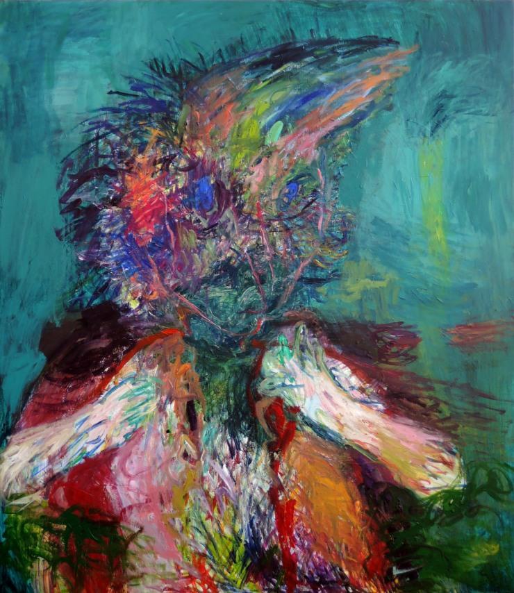 Elämä on Reuhu-Pekka, 120 x 105 cm_01