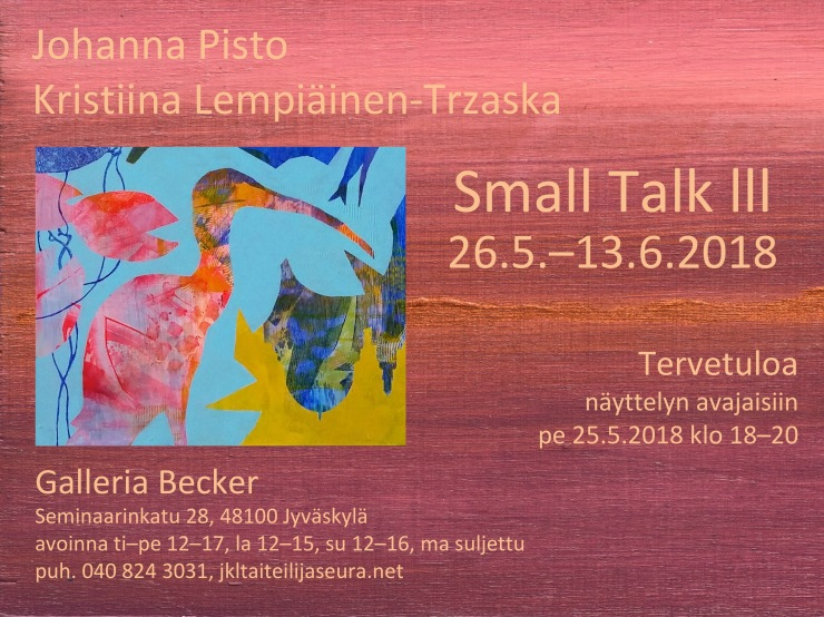 Small Talk 3 KUTSU1 Becker 2018